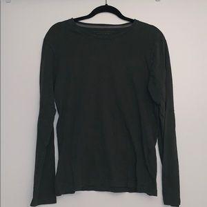 Banana Republic Soft Wash Green long sleeve shirt